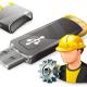 Как восстановить файлы с USB-накопителя